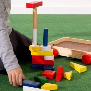 Jogo de Construção Com Carrinho | 24 Peças