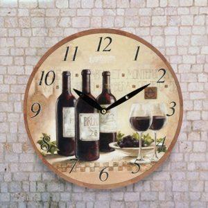 Relógio de Parede Vínico | Disponível Em Vários Modelos | Enviado Aleatoriamente