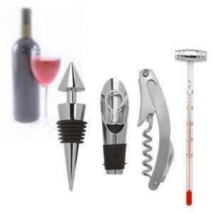 Conjunto Para Degustação De Vinho | 5 Peças