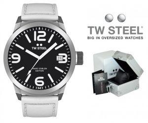 Relógio TW Steel® Marc Coblen Edition TWMC45 SET95 | OFERTA 2 Braceletes Extra !