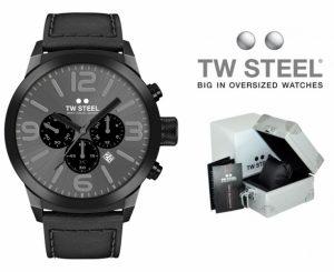 Relógio TW Steel® Marc Coblen Edition TWMC67 Set90 | OFERTA 2 Braceletes Extra!