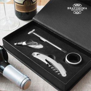 Conjunto De Acessórios Para Vinho Bravissima Kitchen | 4 Peças