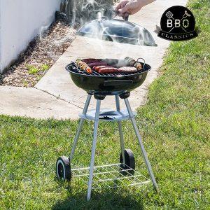 Churrasqueira a Carvão Com Tampa  BBQ Classics