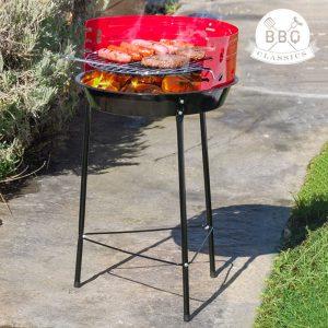 Churrasqueira A Carvão Com Pernas Vaggan Barbecue