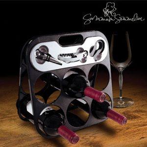 Garrafeira Summum Sommelier Com Acessórios Para Vinho