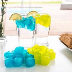 Pack 18 Cubos de Gelo Reutilizáveis | Disponível Em Vários Modelos | Enviados Aleatoriamente!