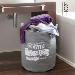 Saco Para Roupa Suja Cinza | Laundry Wagon Trend