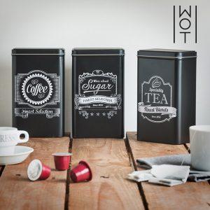 Caixas Metálicas de Cozinha Wagon Trend | Pack de 3