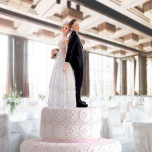 Noivos Para Bolo De Casamento | Disponível Em Vários Modelos | Enviado Aleatoriamente!