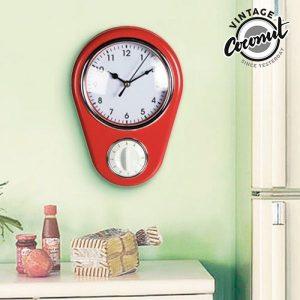 Relógio de Parede Vintage Com Temporizador | Disponível Em Vários Modelos | Enviados Aleatoriamente