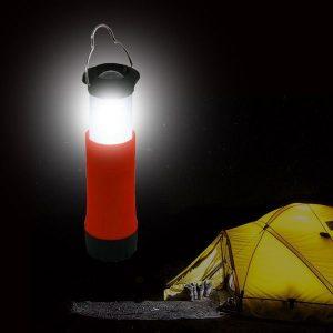 Lanterna De Campismo LED | Disponível Em 4 Cores | Enviado Aleatoriamente!