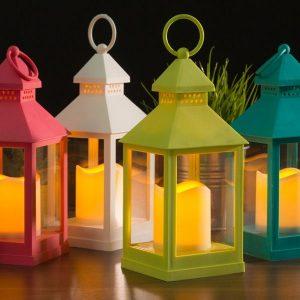 Lanterna Com Vela LED