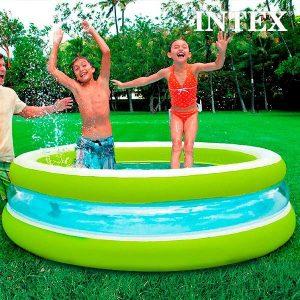 Piscina Insuflável Para Crianças Intex | Ø 203 cm