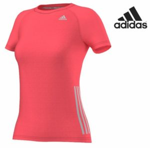 Adidas® T-Shirt Running Flash Red | Tecnologia ClimaCool®