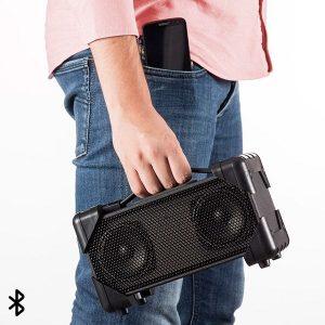 MEGA PREÇO | Coluna Bluetooth Boombox