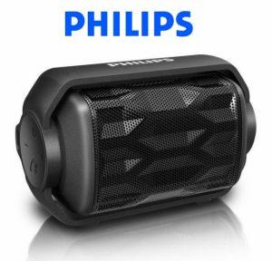 Altifalante Bluetooth Portátil Philips | Robusto e à Prova de Água !