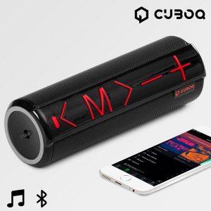 Altifalante Bluetooth Com Suporte CuboQ | Cartão MicroSD