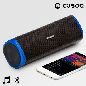 Altifalante Bluetooth CuboQ | Cartão MicroSD | Power Bank