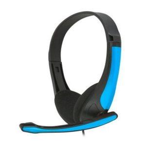 Auriculares Com Microfone Omega Freestyle  Azul
