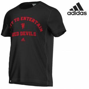 Adidas® T-Shirt Red Devils Black