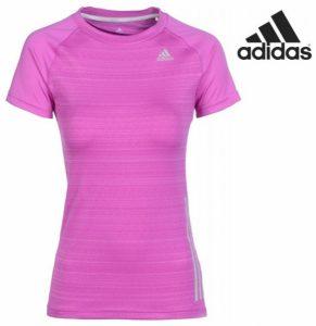 Adidas® T-Shirt Flashing Tape Lilás | Tecnologia Climacool®