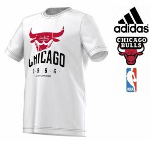 Adidas® T-Shirt NBA Chicago Bulls Junior | Tecnologia Climalite Cotton®