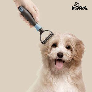Cepillo de cortar nudo para los animales domésticos My Pet Autum Brush