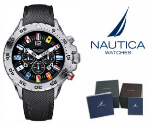 RELÓGIO NAUTICA® | A24520G | NAUTICAL SIDE TABLE | NEW YORK WATCHES