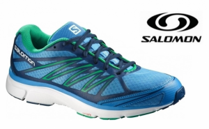 Salomon® Sapatilhas X-Tour 2 Midnight Blue | Real Green | Tecnologia OrthoLite®