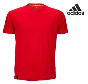 Adidas® T-Shirt De Treino Vermelha | Tecnologia Climacool®