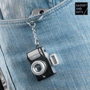 Porta-Chaves Câmara Fotográfica com LED e Som !