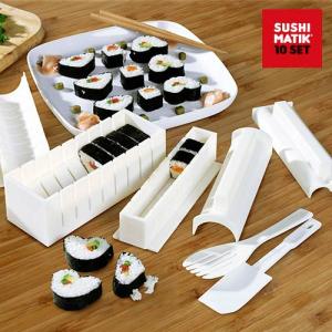 Moldes para Sushi Matik | Conjunto Completo para Fazer Sushi em Casa !