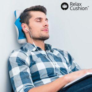 Suporte Cervical com Almofada Anti-Stress Relax Cushion