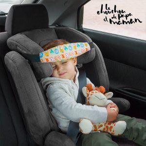 Proteja a Má Postura da Cabeça ou Pescoço das Crianças Enquanto Viaja