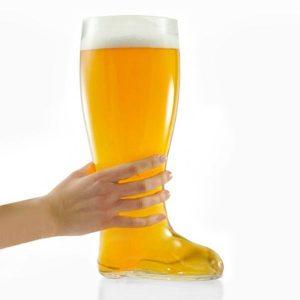 Copo de Cerveja XXL tipo Bota | Capacidade 2 Litros!