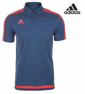 Adidas® Polo Tiro 15 Azul | Tecnologia Climalite®