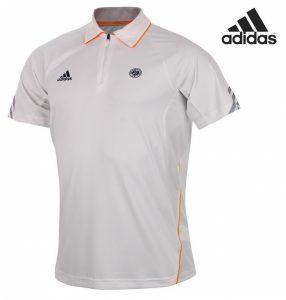 Adidas® Polo Roland Garros Branco   Tecnologia Climacool®