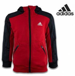 Adidas® Casaco com Carapuço Júnior | Tecnologia Climalite®