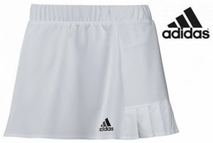 Adidas® Saia Tennis Sequentials Branco | Tecnologia Climalite®