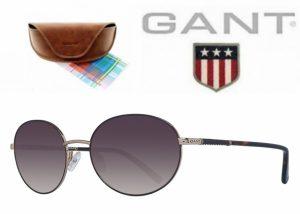 Gant® Óculos de Sol GWS 8019 BLKGLD-1 56