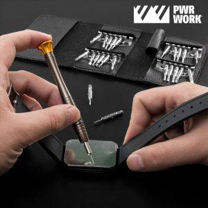 Kit de Bolso com 25 Peças de Precisão PWR Work