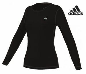 Adidas® SweatShirt de Treino Preta | Tecnologia Climalite®