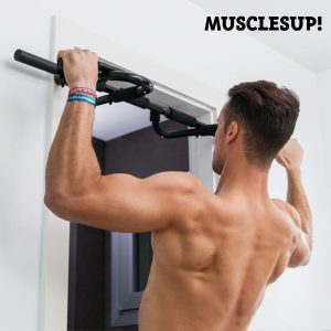 Barra de Elevações e Exercícios Muscles Up Pro
