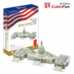 Puzzle The Capitol Hill 3D