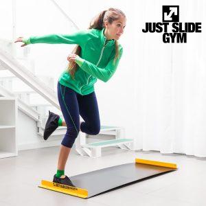 Tapete Deslizante de Treino Fitness Just Slide Gym