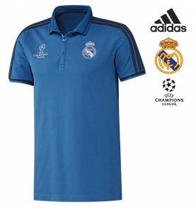 Adidas® Polo Real Madrid Uefa Champions League | Tecnologia Climalite®