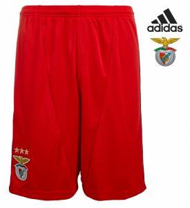 Adidas® Calções Benfica Oficiais Vermelhos Júnior | Tecnologia Climacool®