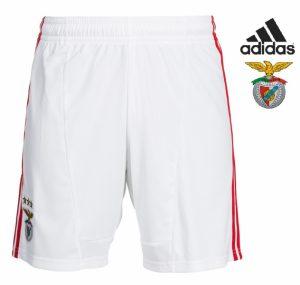 Adidas® Calções Benfica Oficiais Brancos | Tecnologia Climacool®