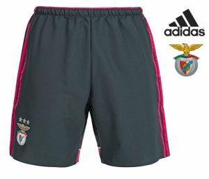 Adidas® Calções Benfica Oficiais Pretos | Tecnologia Climacool®