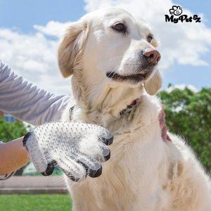 Luva Escova para Cães e Gatos My Pet Petter